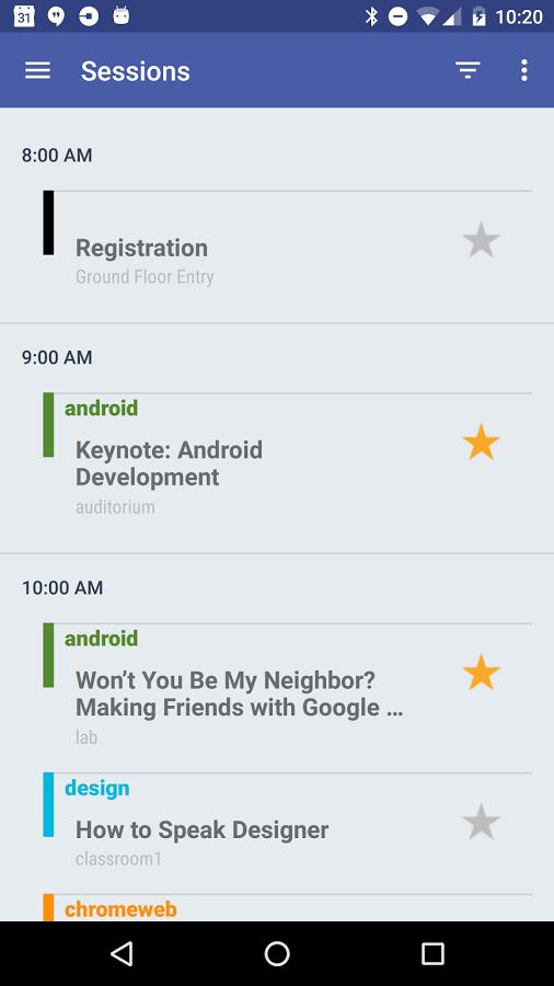 2016 DevFestMN app