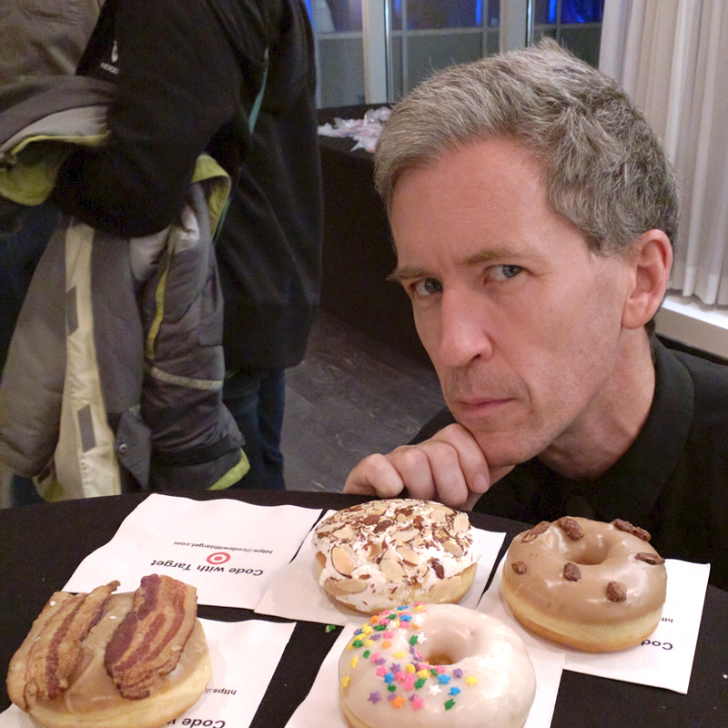 Google Android developer Chet Haase finding inspiration in doughnuts