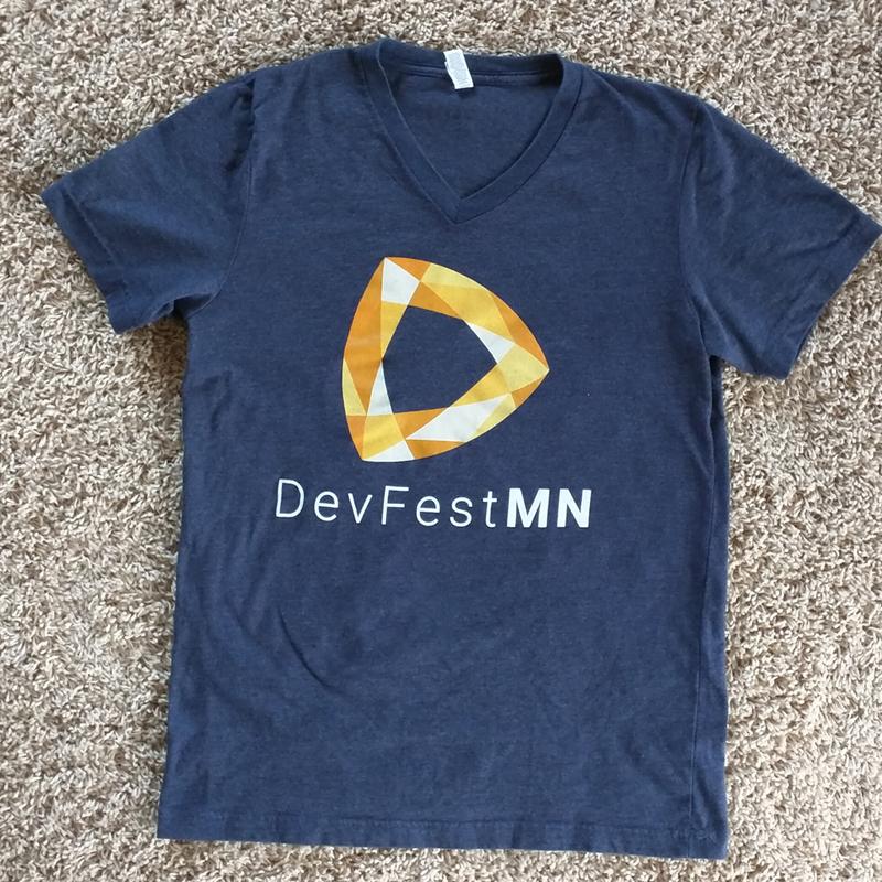 DevFestMN t-shirt